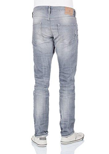 Scotch & Soda Herren Slim Jeanshose 99119985096 Ralston - Stone and Sand Grey