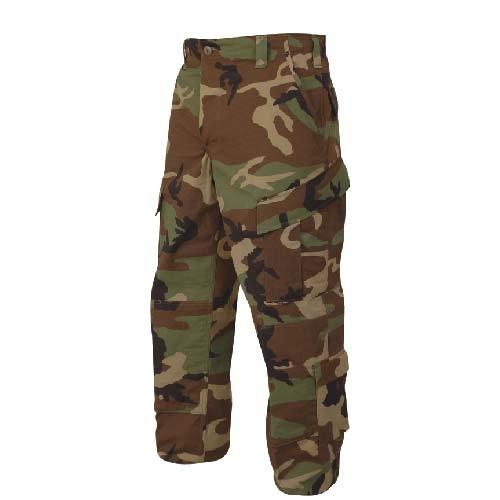 tru-spec Tactical Response Pant, Herren, merhfarbig (Camo Shorts Military Woodland)