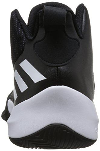 Calzature Esplosiva Nero Adidas Nero Da Scarpe Uomo Carbone Bianco nucleo Flash Basket wqB1Afv