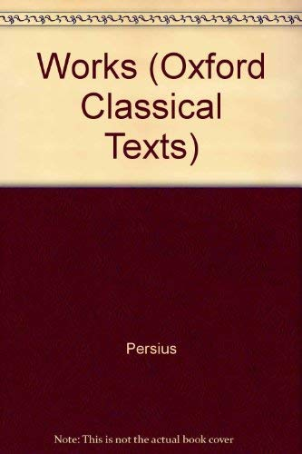 Works (Oxford Classical Texts)