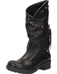 Botas para mujer, color Negro , marca COOLWAY, modelo Botas Para Mujer COOLWAY BIVA Negro