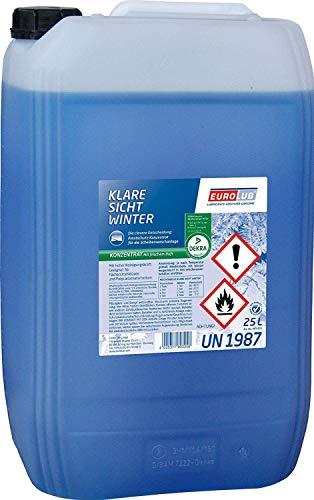 25 Liter Scheibenfrostschutz Konzentrat/EUROLUB Klare Sicht Winter Konzentrat