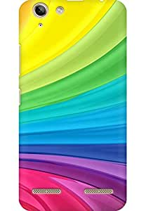 AMEZ designer printed 3d premium high quality back case cover for Lenovo Vibe K5 Plus (abstract colurful)