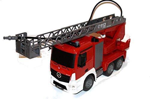 feuerwehrauto lena Unbekannt RC Feuerwehrauto Mercedes-Benz ANTOS 4WD m. Wasserspritze & Drehleiter Licht und Sirene