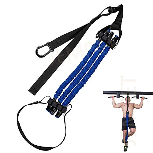 JEMPET klimmzughilfe Klimmzugstangen Assistenzbänder Hilfsgurt Hilfsband, Chin up Resistance Bands, elastische Unterstützung für Männer & Frauen Ganzkörper-Workout