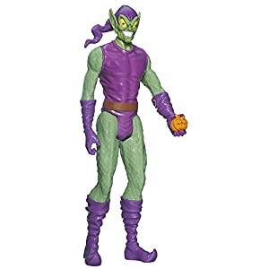 Spider-Man Marvel Ultimate Titan Hero Series Green Goblin - Muñeco de 30 cm 4