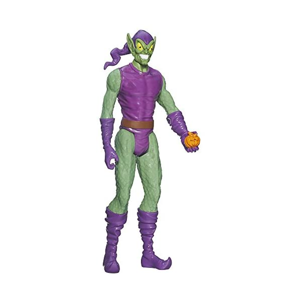 Spider-Man Marvel Ultimate Titan Hero Series Green Goblin - Muñeco de 30 cm 1