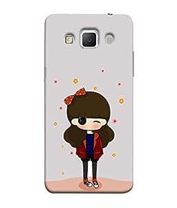 PrintVisa Designer Back Case Cover for Samsung Galaxy Grand 3 :: Samsung Galaxy Grand Max G720F (Glamorous girl design :: Pretty girl design :: Funny girl design :: Smiley girl design :: Angel girl design)
