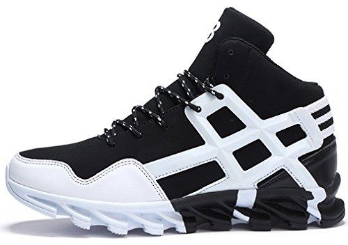 PORTANT High-Top Sportlich Sneaker für Männer 3 Farben 38-43 Weiß