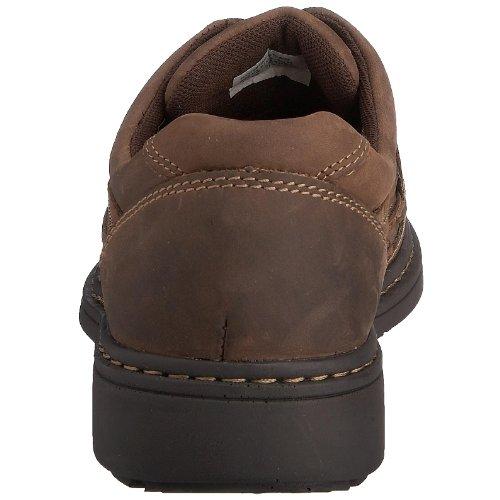 Hush Puppies Outlaw, Chaussures de ville homme Marron (Brown Nubuck)
