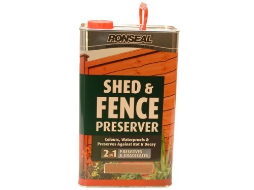 ronseal-sfwpg5l-shed-fence-wood-preservative-green-5-litre