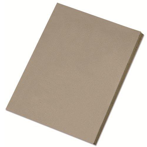 Preisvergleich Produktbild Folia Graupappe, 40x50cm, 2,5mm stark, grau (5 Bogen)