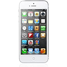 Apple iPhone 5 Blanco 16GB Smartphone Libre (Reacondicionado Certificado)