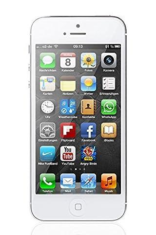Apple iPhone 5 Weiß 16GB Smartphone (Zertifiziert und Generalüberholt)
