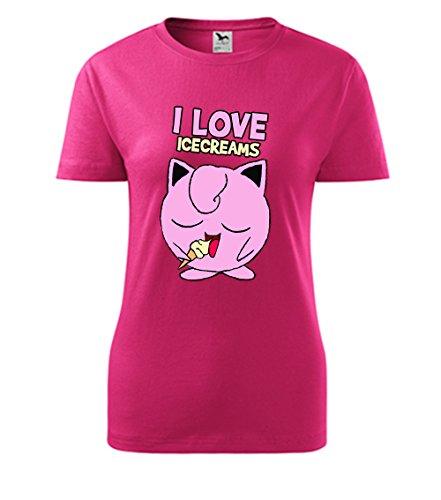 Colour Fashion -  T-shirt - Donna Pink