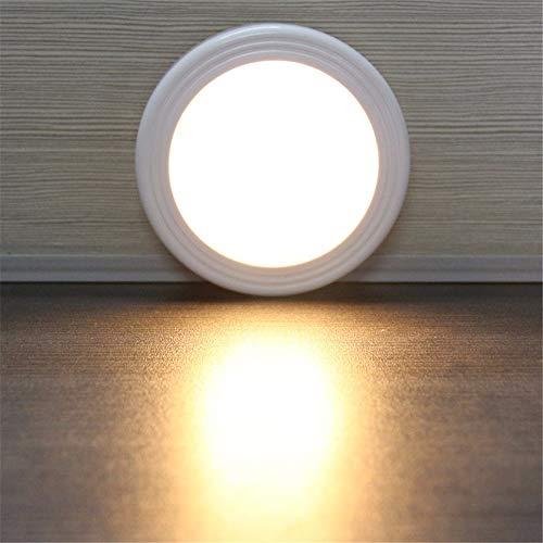 AOEIY Luz de noche blanca de inducción luz cálida. lámpara de pared...