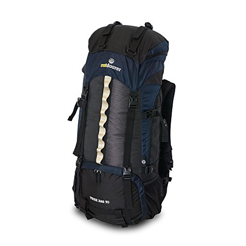 outdoorer Trekkingrucksack Trek Bag 70, 2kg