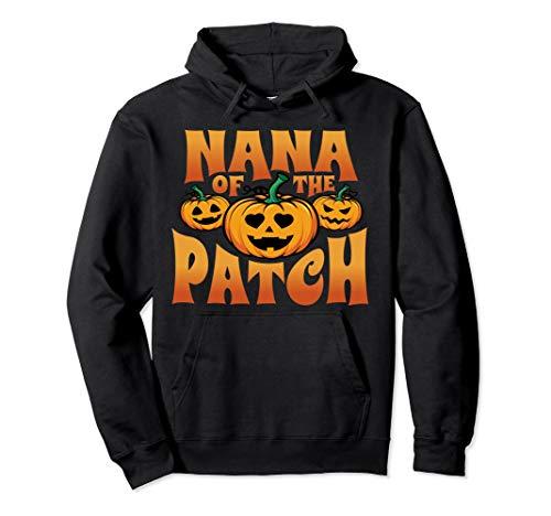 Nana des Fleckens lustiges Kürbis-Halloween-Kostüm Pullover