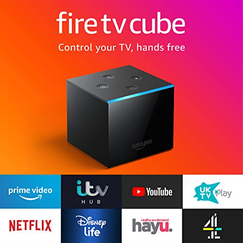 41JyC%2BLIM5L. SS500  - Fire TV Cube | Hands free with Alexa, 4K Ultra HD streaming media player