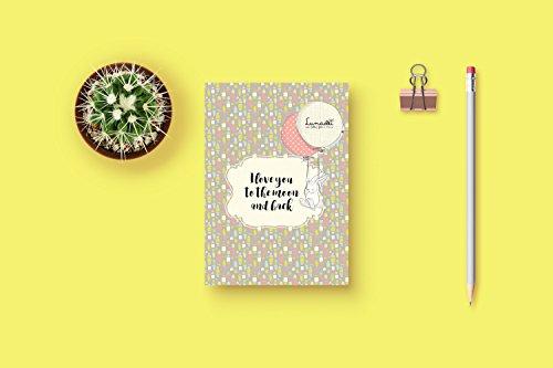 'Glückwunschkarte mit Umschlag | ideal für Geburt, Taufe, Hochzeit, Geburtstag, liebe | Modell: