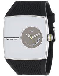 Freestyle FS84903 - Reloj analógico de cuarzo para hombre con correa de caucho, color negro