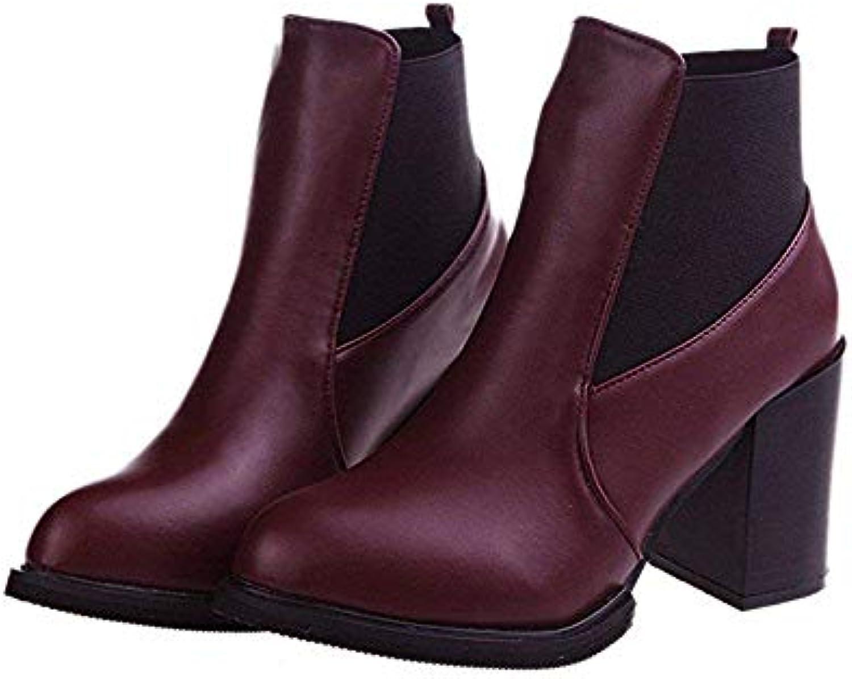 SED Stivali da donna con tacco alto e e e piattaforme impermeabili Stivali corti Stivali e scarpe alla caviglia con... | Shopping Online  | Scolaro/Ragazze Scarpa  defc4e