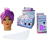 Paris Prix - Toalla para secar el cabello (microfibra)