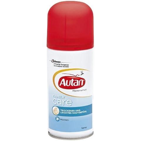 Repelente de mosquitos repelente de mosquitos aerosol piel FamilyCare sentir 100ml seco y ligero