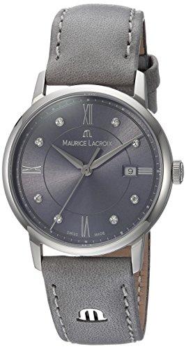Maurice Lacroix EL1094-SS001-250-1 - Reloj de Pulsera Mujer, Color Gris