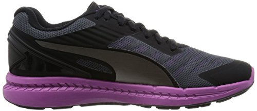 Puma Ignite V2, Chaussures de Course Femme Multicolore (Periscope Black/Aged Silver/Purple Cactus Flower)
