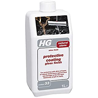 HG protective coating gloss finish for natural stone 1L - For protecting with shine of all types of natural stone floors against wear and damage to the top layer.