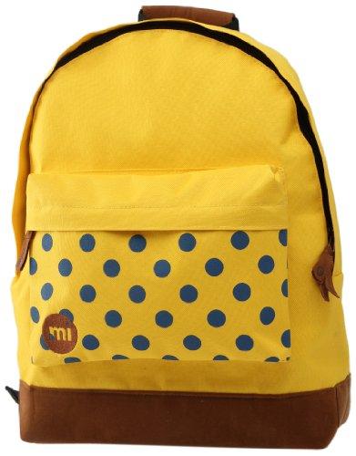 Mi-Pac mi pac polkadot mochila amarillo
