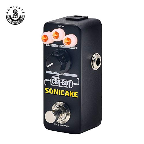 SONICAKE Guitar Pedal Cry-Bot Envelope Filter Auto Wah for Funk Bass and Guitar Players