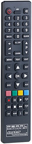 auvisio Fernbedienung lernfähig: PC-programmierbare 4in1-Universal-Fernbedienung PRC-560.USB (Fernbedienung TV)