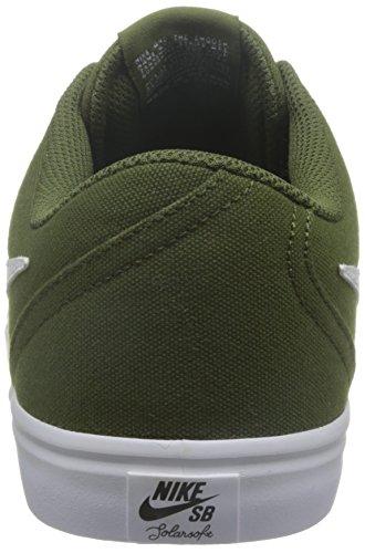 Uomo scarpa sportiva, colore Verde , marca NIKE, modello Uomo Scarpa Sportiva NIKE SB CHECK SOLAR CNVS Verde Verde