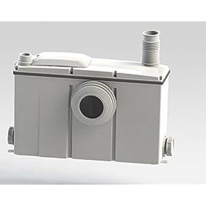 Setma Hebeanlage Watergenie C für WC + 3 weitere Einläufe für Dusche, Waschtisch, Bidet, Urinal