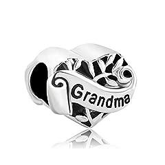 Idea Regalo - Uniqueen Ciondolo a forma di cuore, decorato con l'albero della vita e la scritta
