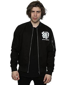 Hypnotize hombre Bad Boy Logo chaqueta de bombardero
