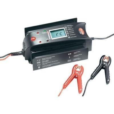 Profi Power Automatikladegerät Automatik-Ladegerät 6/12A12V LCD 6+12A 12 V 6 A, 12 A
