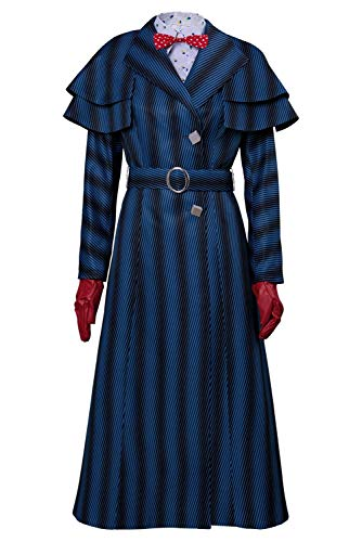 Mary Poppins Returns Mary Poppins Cosplay Kostüm für Kinder Mädchen