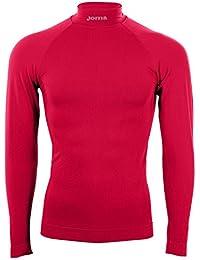 Joma Brama Classic - Camiseta térmica para niños, color rojo, talla 4-6 años