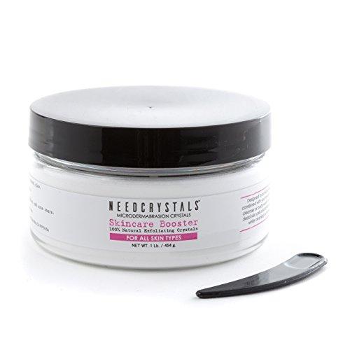 NeedCrystals Mikro Dermabrasion Aluminiumoxid-Kristalle Hautpflege-Behandlung - 1 lb Körnung 120