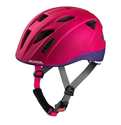 Alpina Ximo Kinder Fahrradhelm - deeprose-Violet Mat, Kopfumfang:49-54 cm