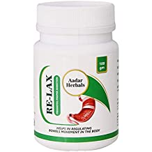 AADAR Re-LAX – for Constipation Relief, Acidity, Bowel Wellness and Gastric Problems, 100 GM