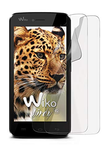 2X Wiko Birdy | Schutzfolie Matt Bildschirm Schutz [Anti-Reflex] Screen Protector Fingerprint Handy-Folie Matte Bildschirmschutz-Folie für Wiko Birdy/Wiko Birdy 4G Bildschirmfolie