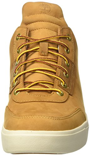 Timberland Amherst High Top Chukkawheat Nubuck, Bottes Chukka Homme Vert (Wheat Nubuck)