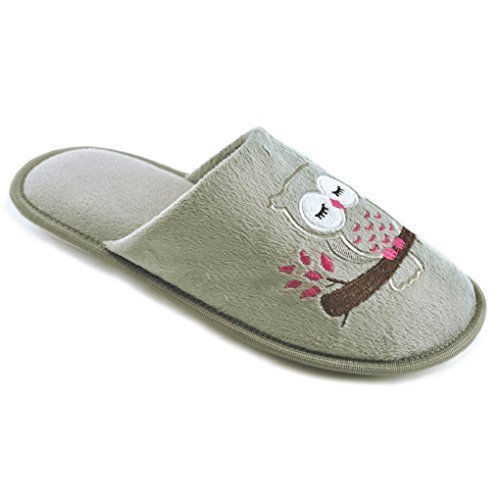 SlumberzzZ, Pantofole donna Grey