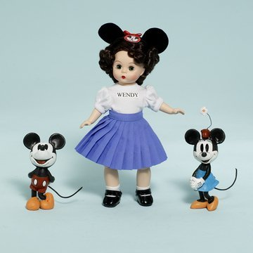 Madame Alexander 8 Mouseketeer Wendy, Disney Favorites Collection, Disney Showcase Collection