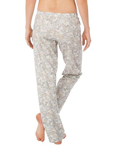 Calida Hose Favourites Trend 5, Bas de Pyjama Femme Blanc - Weiß (star white 910)