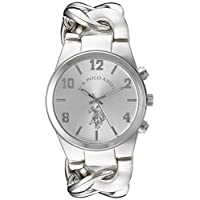 U.S. Polo Assn. Women's Quartz Watch, Analog Display and None Strap USC40178